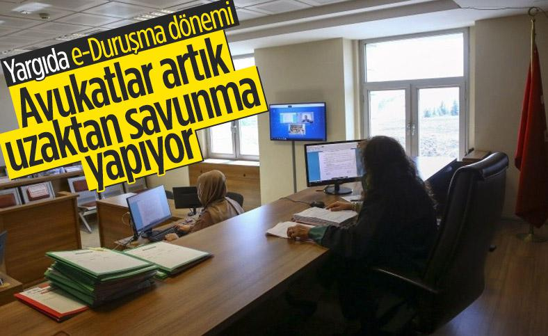 Yargıda E - Duruşma Dönemini Avukat Veyis AYDIN Başlattı